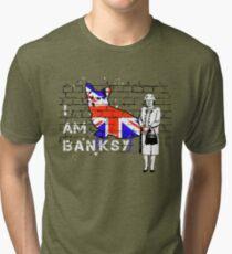 I am Banksy Tri-blend T-Shirt