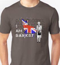 I am Banksy Slim Fit T-Shirt