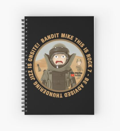 THUNDERING JIZZ IS ONSITE Spiral Notebook