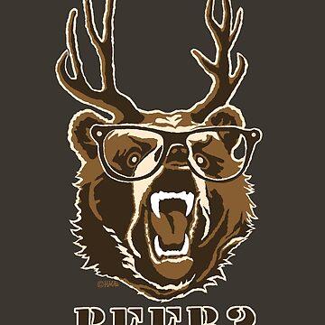 Bear, Deer or Beer  by NewSignCreation