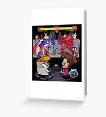 Dexter & Timmy Turner  Greeting Card