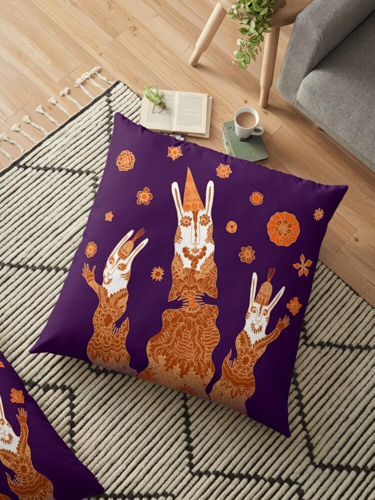 Psychedelic Rabbit Wizards  by SusanSanford
