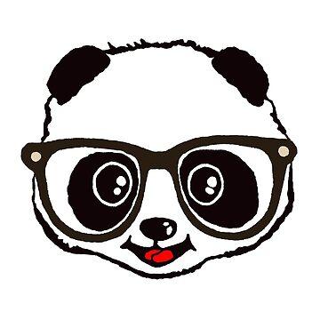 Cute Panda  by NewSignCreation