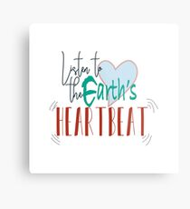Listen to the Earth's Heartbeat Metal Print
