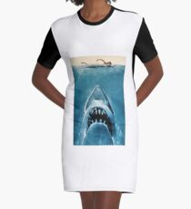 Jaws Graphic T-Shirt Dress