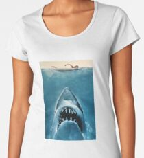 Jaws Women's Premium T-Shirt