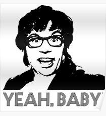 Austin Powers - Yeah baby! Poster