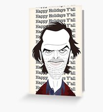 """Happy Holidays, Y'all"" Greeting Card"