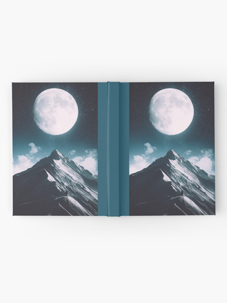 Alternate view of New Moon Hardcover Journal