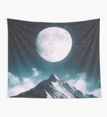 New Moon Wall Tapestry