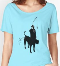 Yupptaur Slave Gimp  Women's Relaxed Fit T-Shirt