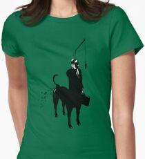 Yupptaur Slave Gimp  Women's Fitted T-Shirt