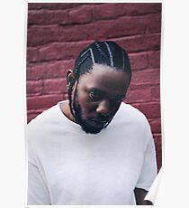 Kendrick Lamar - Brick Wall Poster