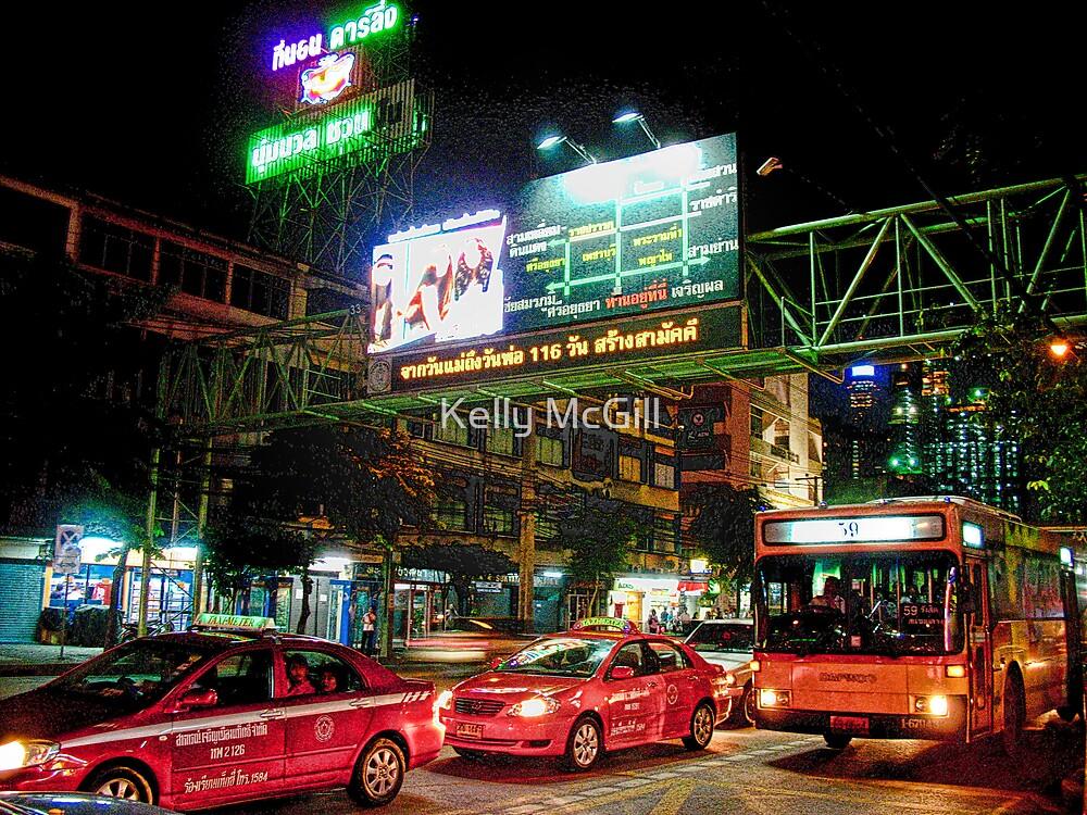 Streets of Bangkok, Thailand by Kelly McGill