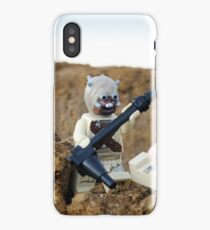 Tusken Raider Attack! iPhone Case/Skin