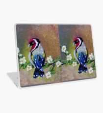 Bird on Flower III Laptop Skin