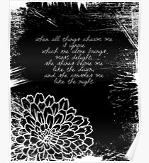 Baudelaire - Poetry Poster
