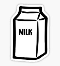 Milk Sticker