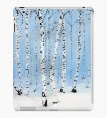Late Afternoon Snowstorm in the Forest iPad Case/Skin