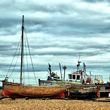Boats at Deal1 by CatherineV