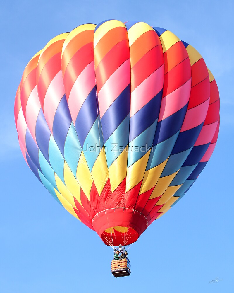 Hot Air Balloon #2465 by John Zawacki