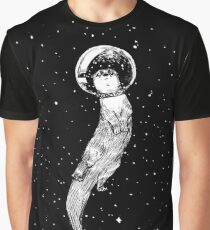 Drifting in Otter Space (best for color) Graphic T-Shirt