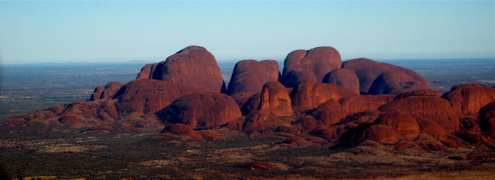 Kata Tjuta red in the afternoon by KimOZ
