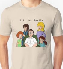 f is for family - the retro series T-Shirt