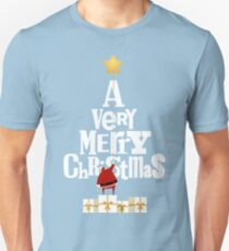 Santa Claus and A Very Merry Christmas T-Shirt