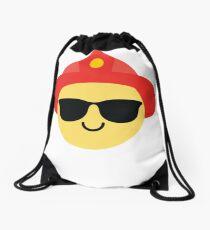 Fireman Emoji   Drawstring Bag