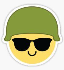 Soldier Emoji   Sticker