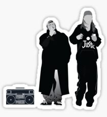 Jay and Silent Bob - Clerks  Sticker