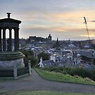 Edinburgh Skyline from the City Observatory on Calton Hill by tayforth
