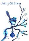 Christmas Blue Bird by Linda Callaghan