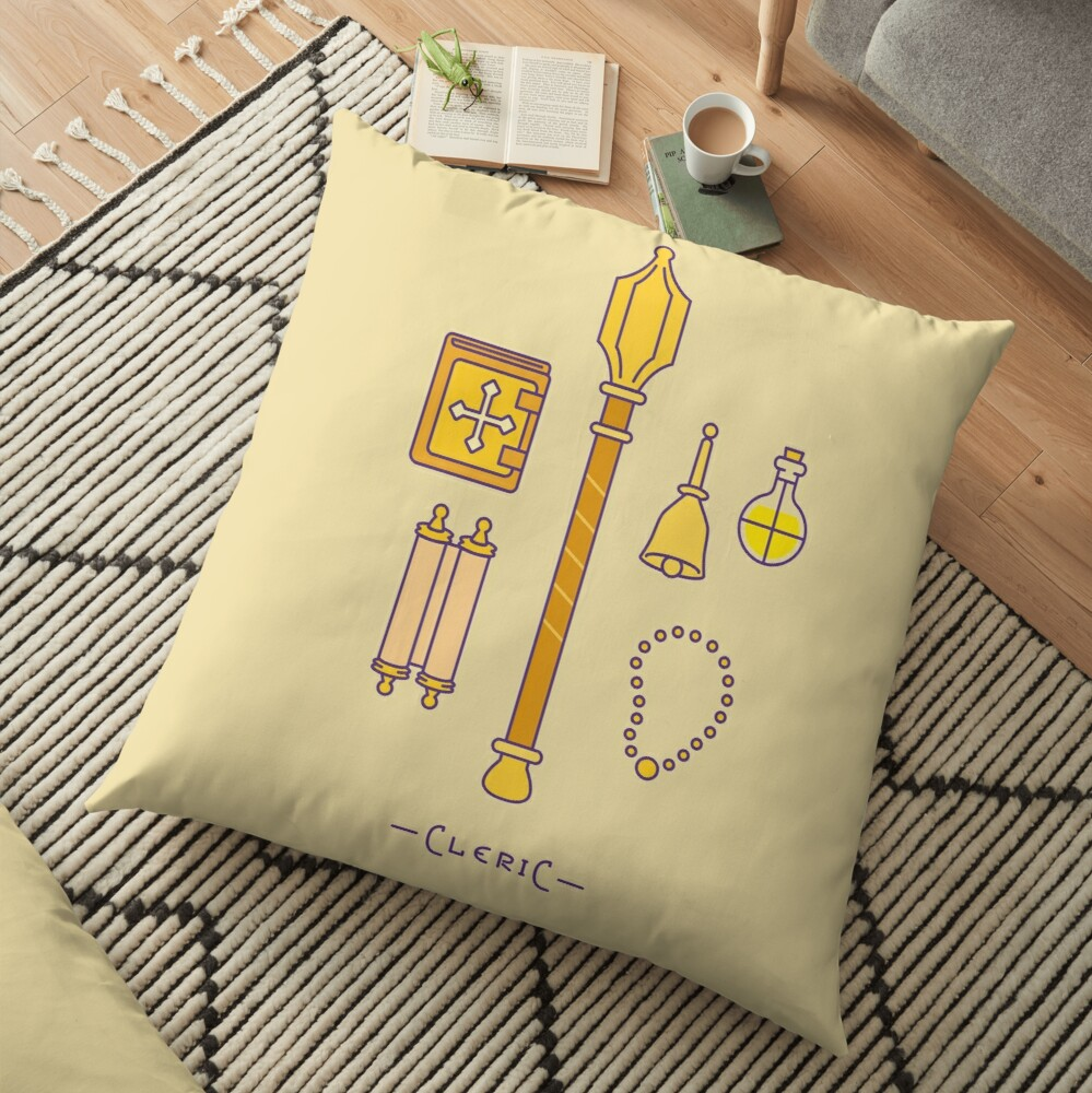 The Cleric Floor Pillow