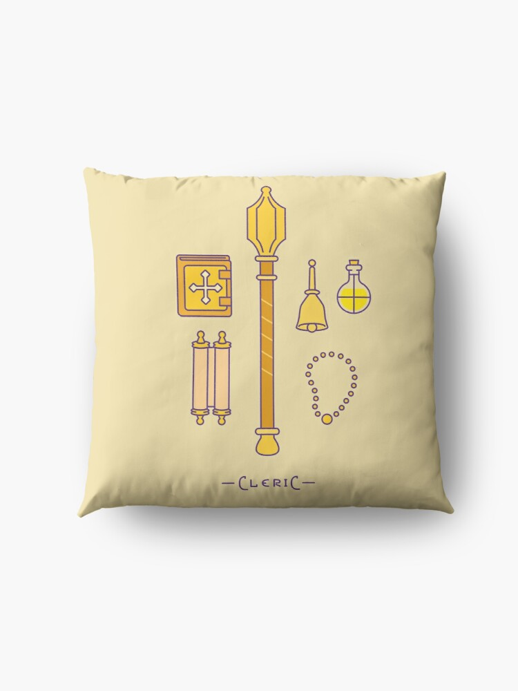 Alternate view of The Cleric Floor Pillow