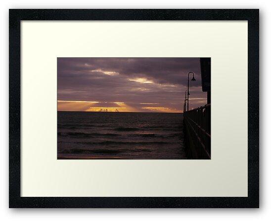 Glenelg Sunset by Biggzie