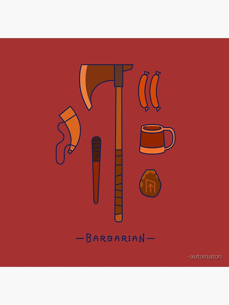 The Barbarian by -automaton