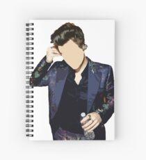 Harry Styles Spiral Notebook