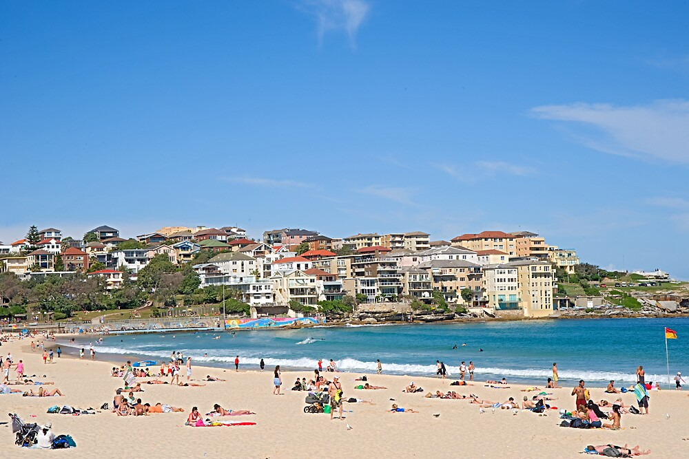 Bondi Beach Sydney by satwant