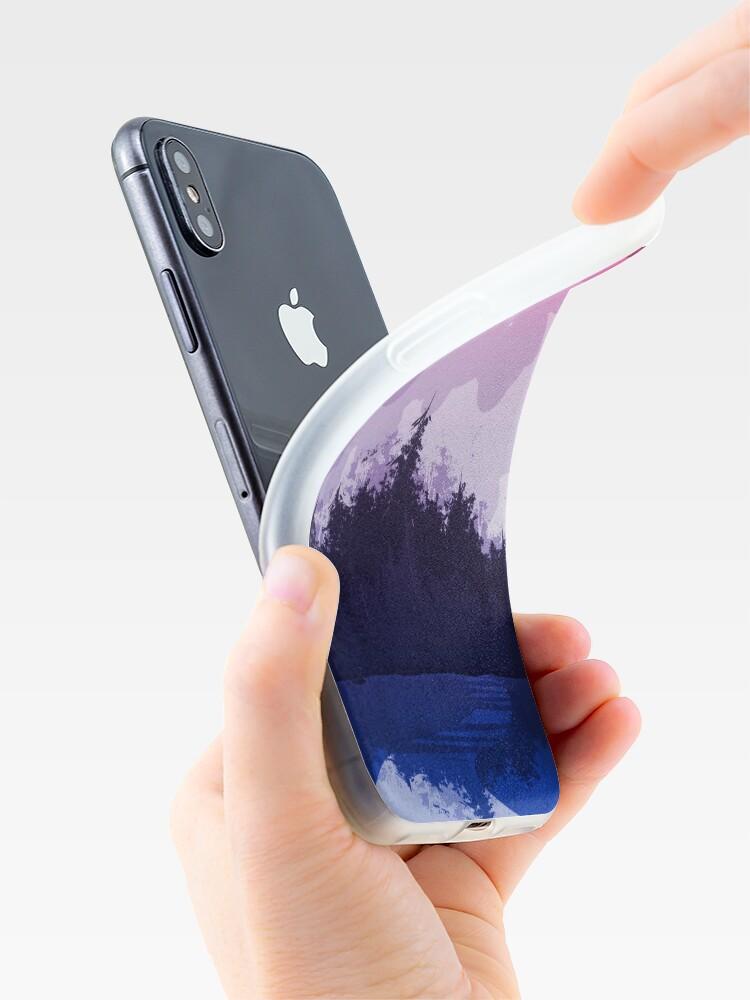 Vista alternativa de Vinilos y fundas para iPhone bosque bi orgullo