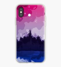 Vinilo o funda para iPhone bosque bi orgullo