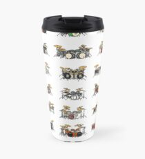 35 Pixel Drum Sets Travel Mug