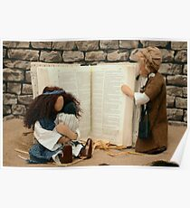 Christian Dolls Study Bible Poster