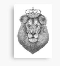 Der König Leinwanddruck
