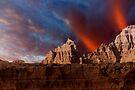 Sunrise over Badlands Window Trail .3 by Alex Preiss