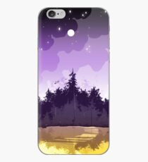 nonbinary pride forest iPhone Case