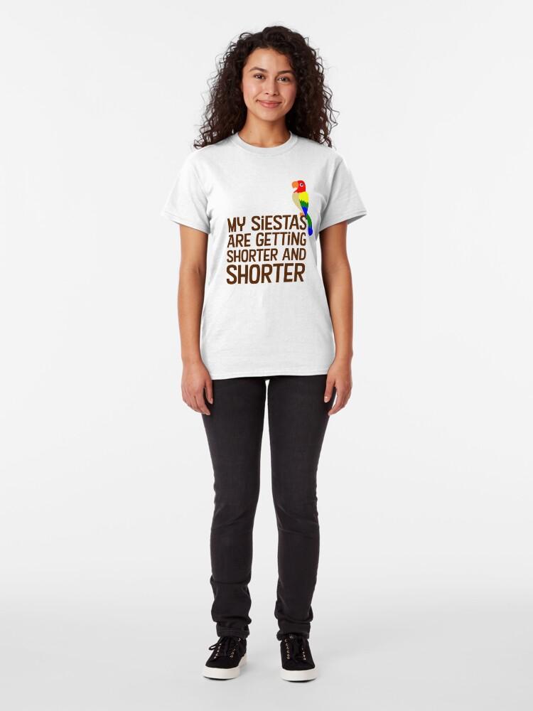 Vista alternativa de Camiseta clásica Tiki Room Siestas