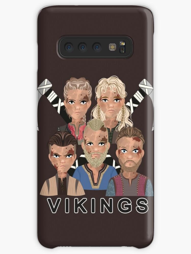 'VIKINGS - Ragnar's Sons - Sigurd, Ivar, Bjorn, Ubbe, Hvitserk' Case/Skin  for Samsung Galaxy by Weiliepew