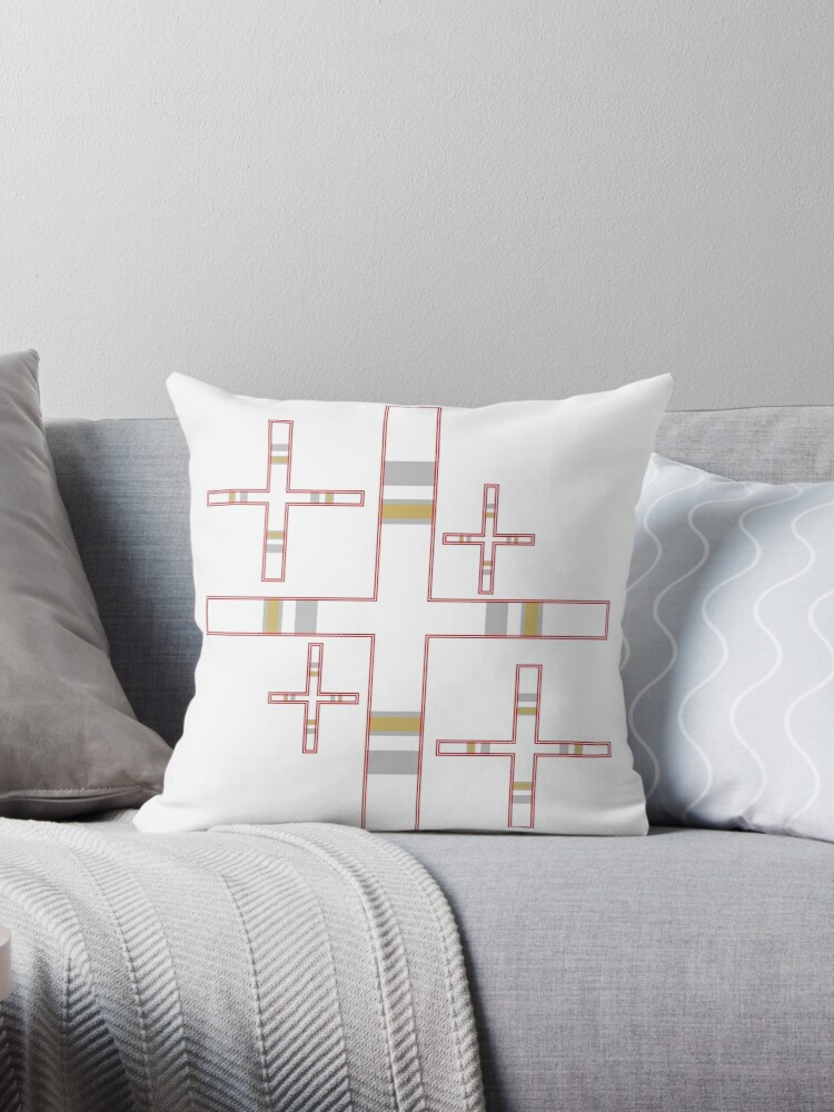 Striped Crosses by PharrisArt